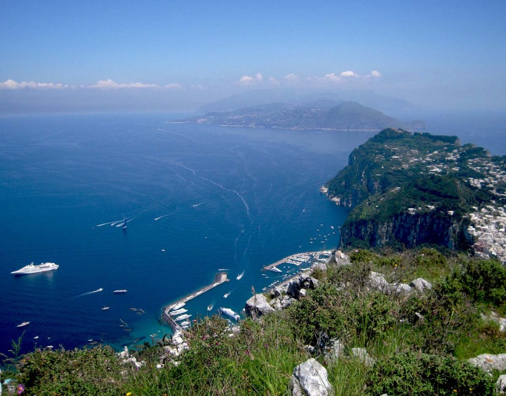 View over Penisola Sorrentina