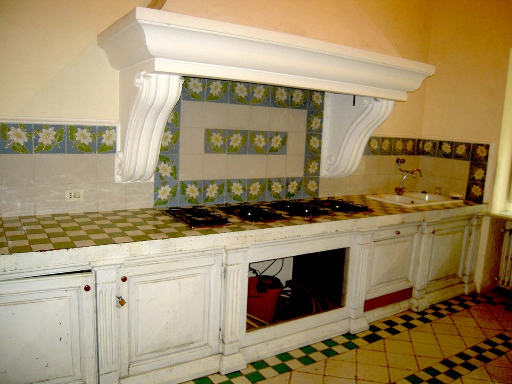 Villa Fersen - The kitchen
